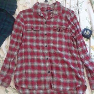 Used Madewell flannel shirt
